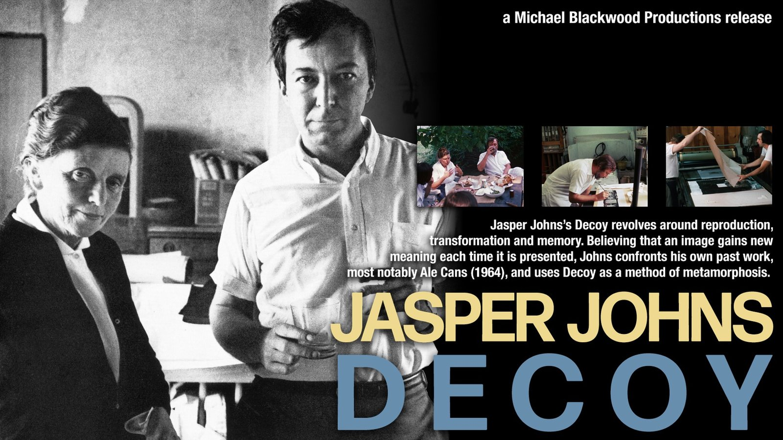Jasper Johns: Decoy - An Artist Re-imagines his Past Work